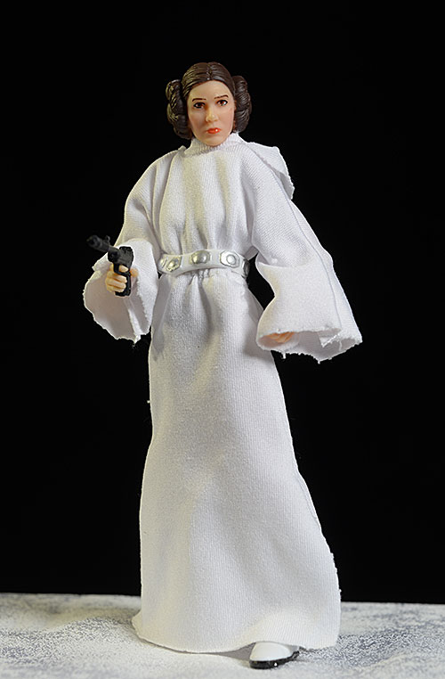 Star Wars Black 40th Anniversary Princess Leia action figure by Hasbro