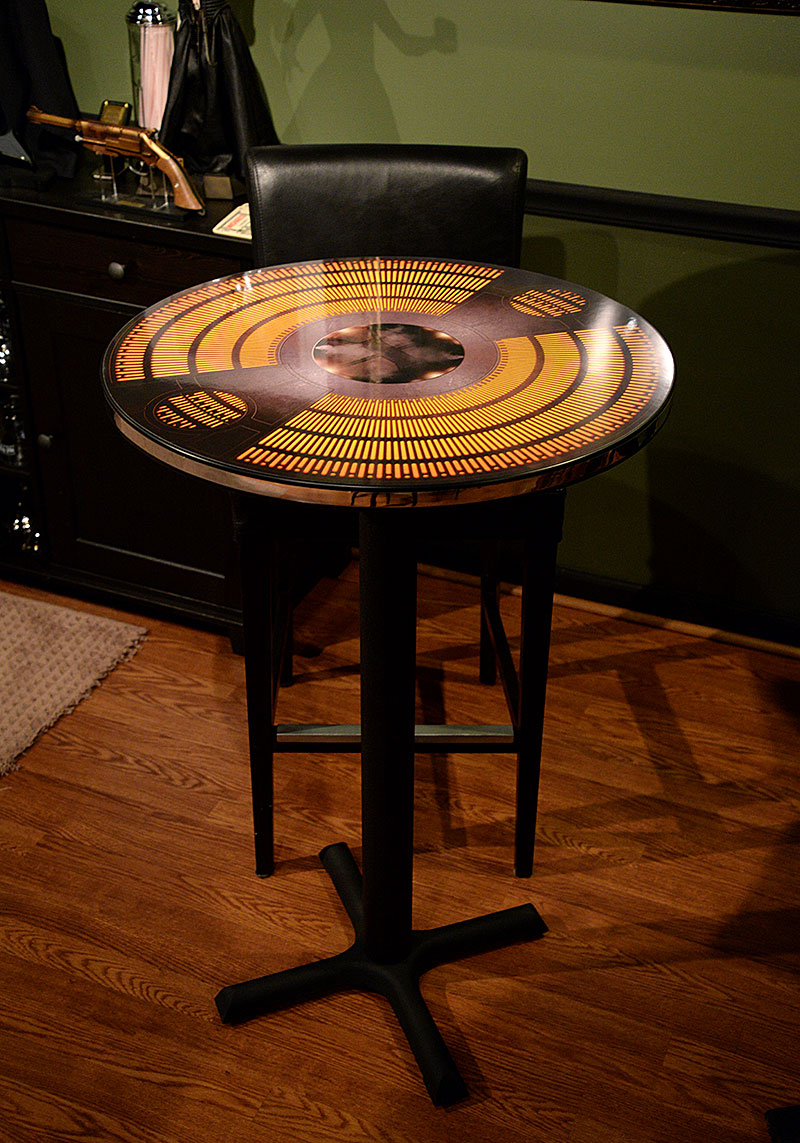 Carbonite Chamber Star Wars Cafe Table by Regal Robot