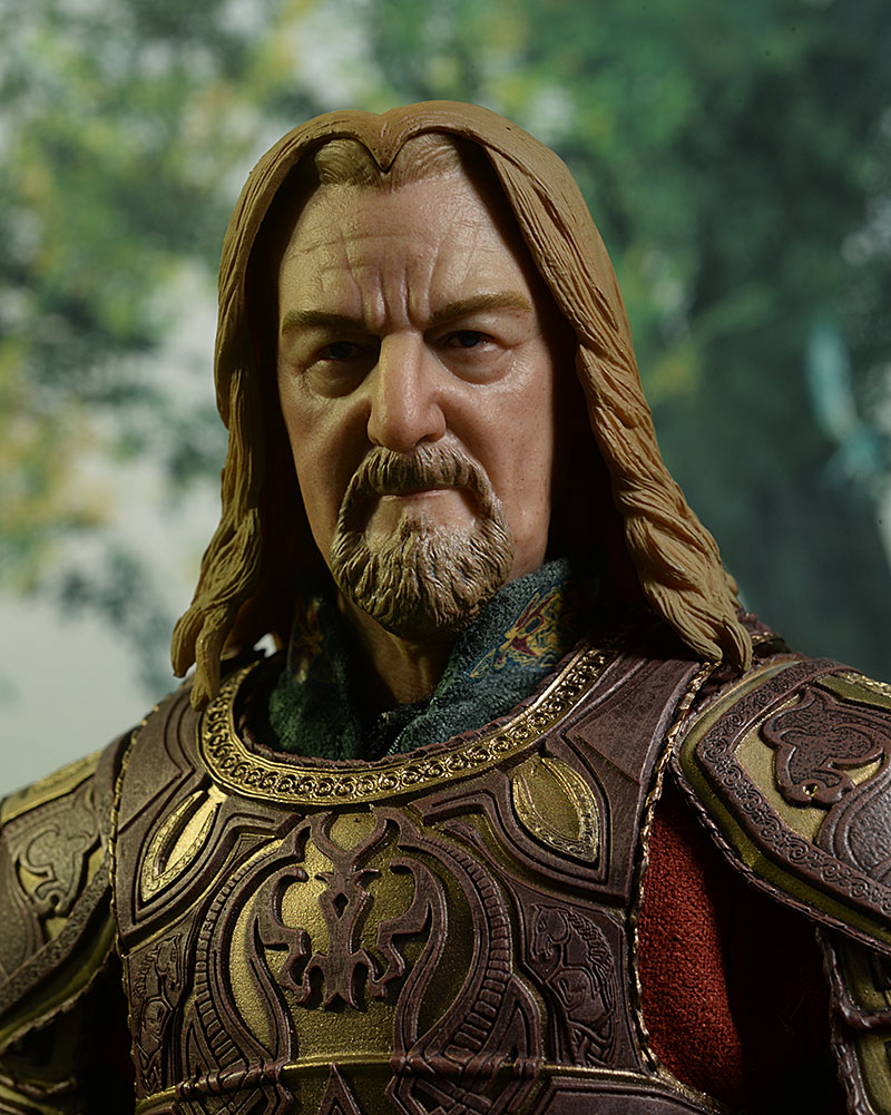 King Theoden Lord of the Rings sixth scale action figure by Asmus