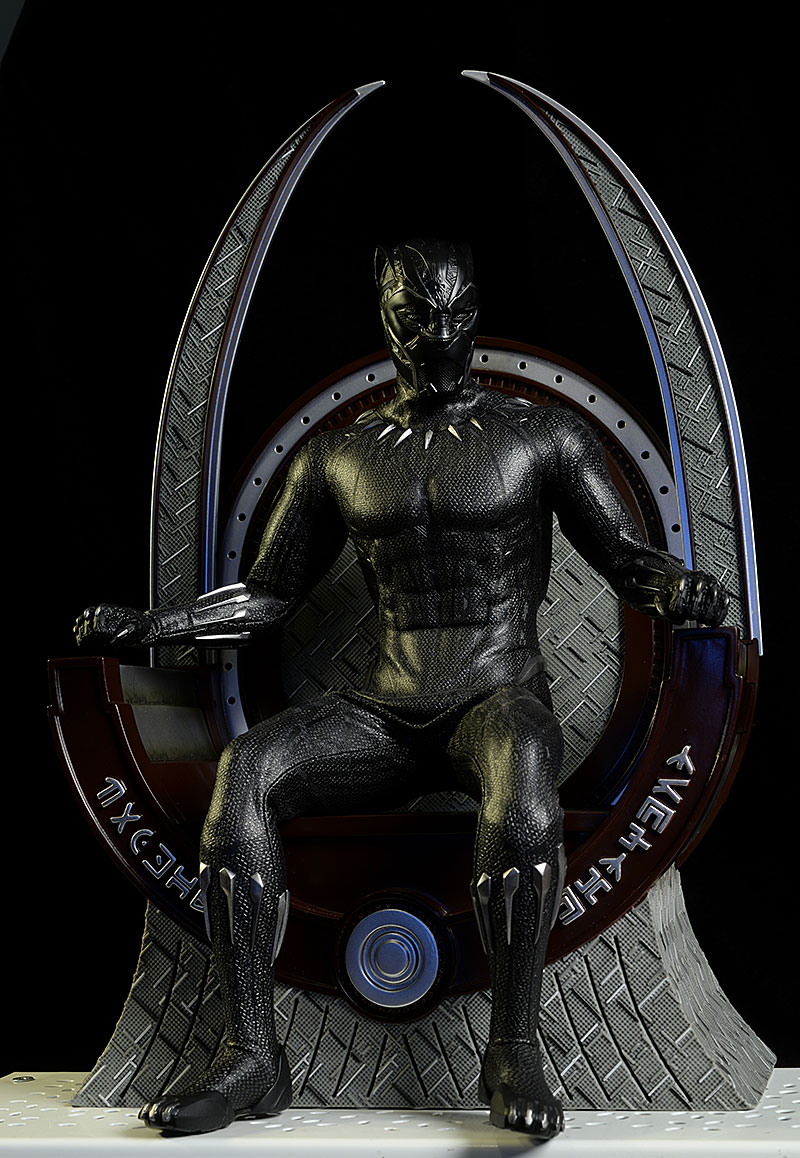 Wakanda Throne Black Panther sixth scale diorama by Hot TOys