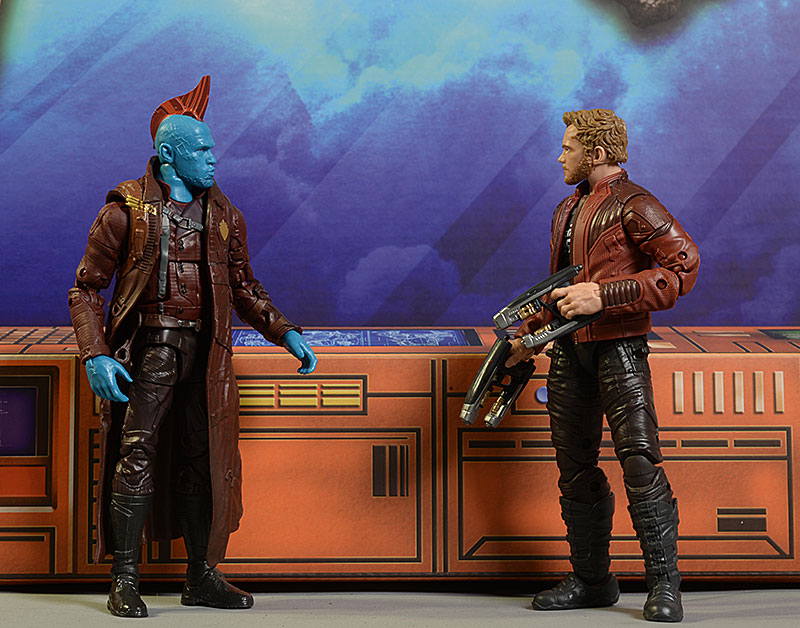 Marvel Legends Star-Lord, Yondu action figures by Hasbro