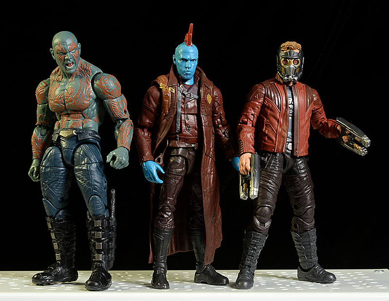 Marvel Legends Star-Lord, Drax, Yondu action figure by Hasbro