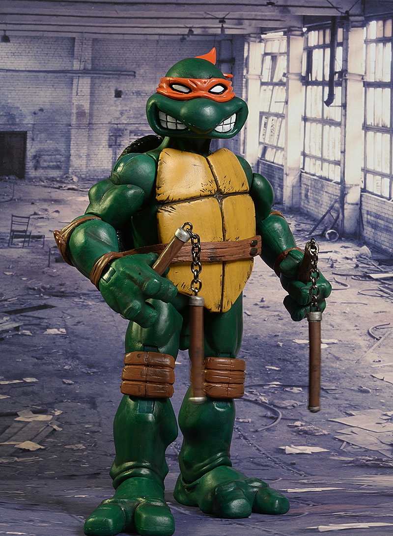 TMNT Michelangelo sixth scale action figure by Mondo