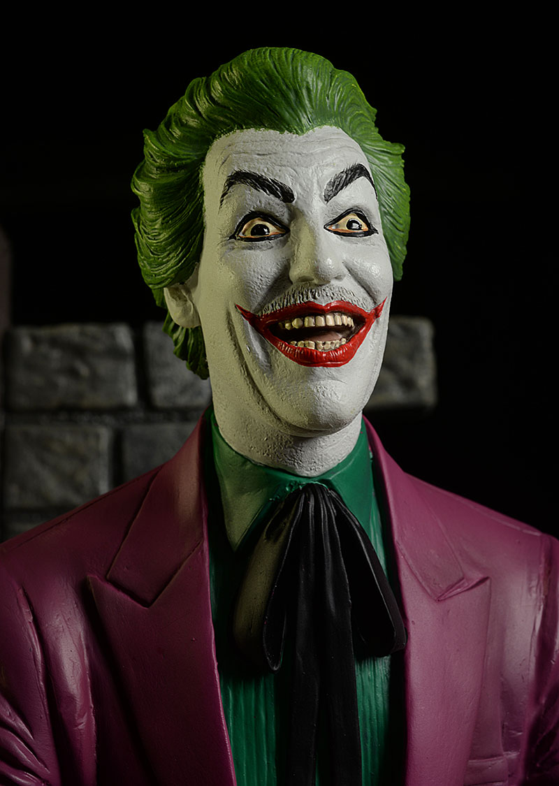 the Joker Cesar Romero 1966 Batman TV show statue by Tweeterhead