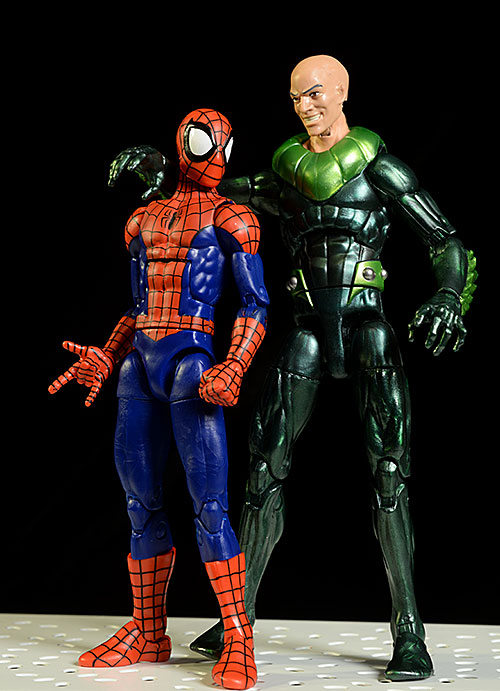 Ultimate Spider-Man, Vulture Marvel Legends Walmart Exclusive action figures by Hasbro