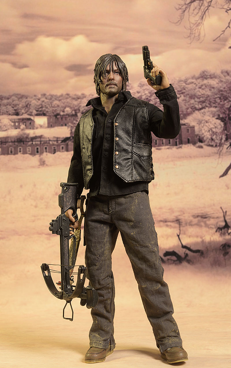Daryl Dixon Walking Dead sixth scale action figure by ThreeZero