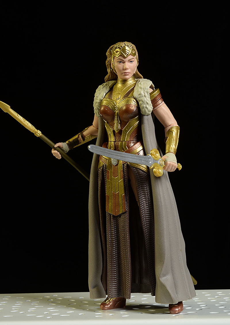 Wonder Woman Diana, Hippolyta, Ares Multiverse action figure by Mattel