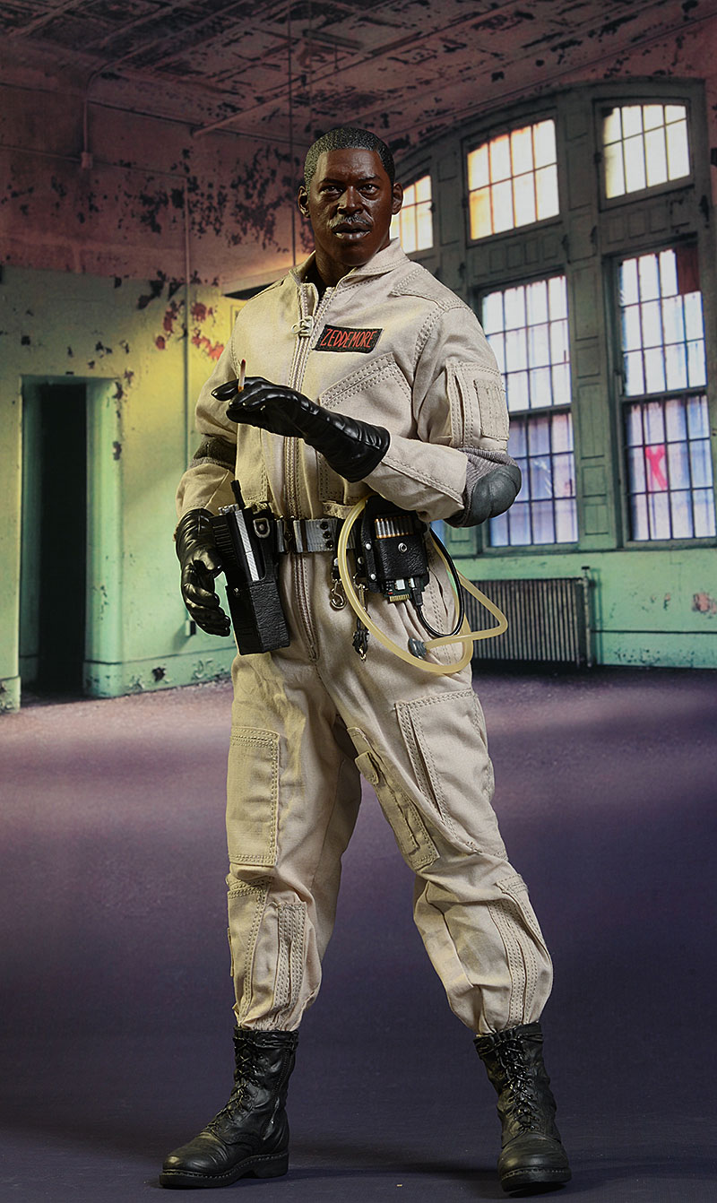 Winston Zeddemore Ghostbusters sixth scale action figure by Blitzway