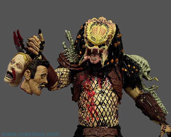Bad Blood and Enforcer Predator action figures - Another Pop