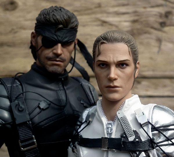 Metal Gear Solid Big Boss And The Boss Action Figures